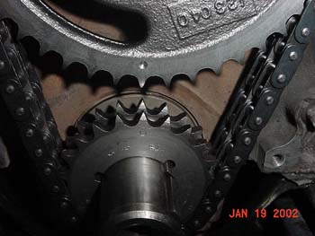 Post: Crank Gear/Cam Gear Timing Marks. (Topic#198828)